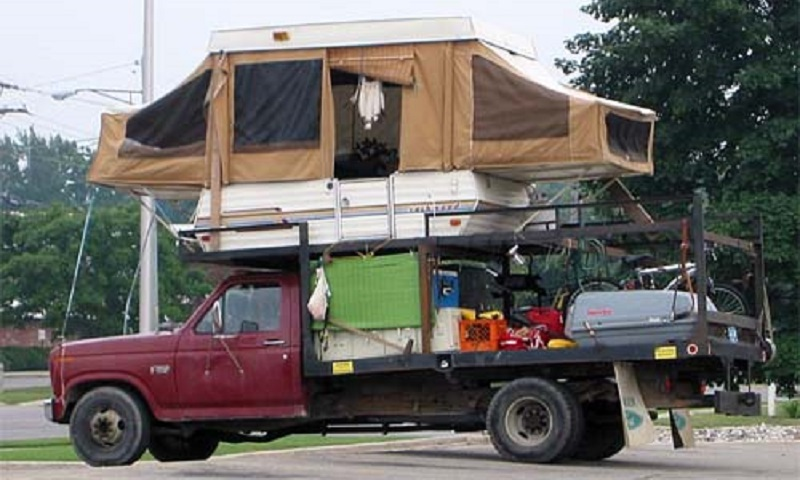 Camping car insolite