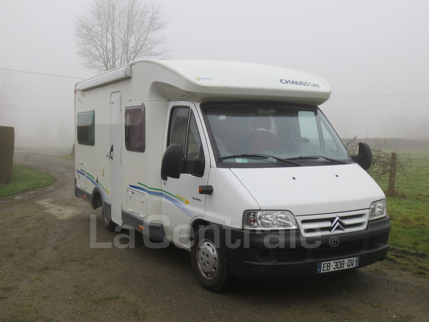 Camping car chausson welcome 60 occasion
