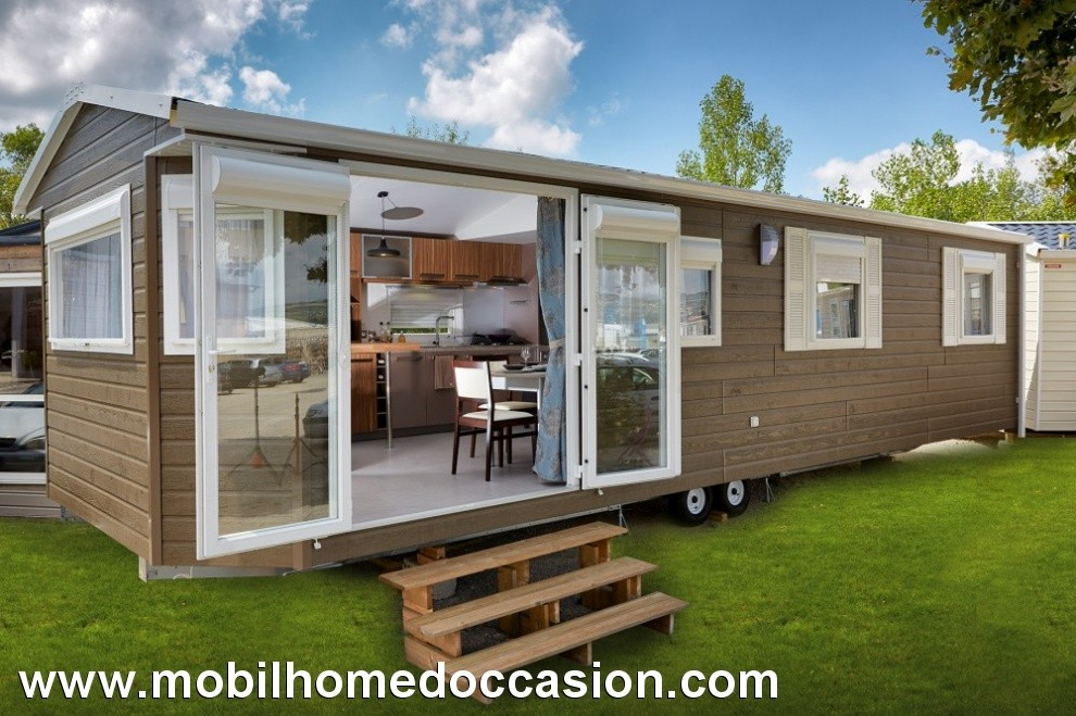 Mobilhome a vendre dans camping portugal