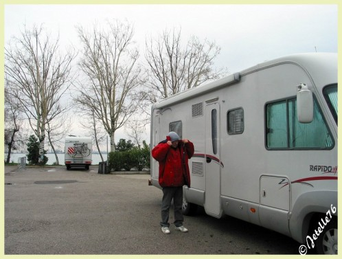 Aire camping car venise