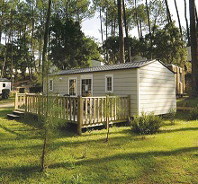 Mobilhome location landes