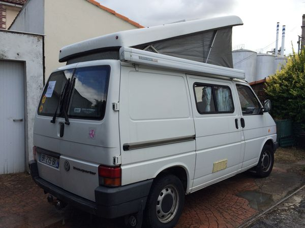 Camping car vw t4 occasion
