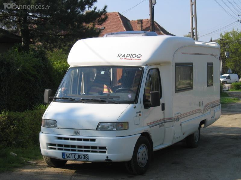 Camping car occasion particulier isere