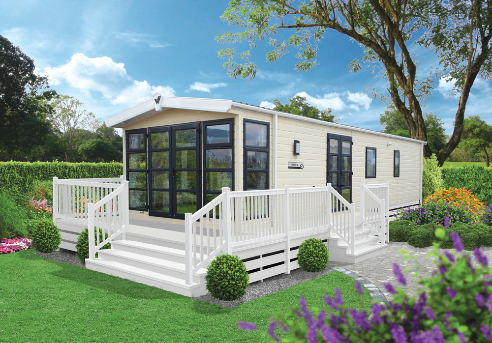 Mobil home willerby occasion 40m2