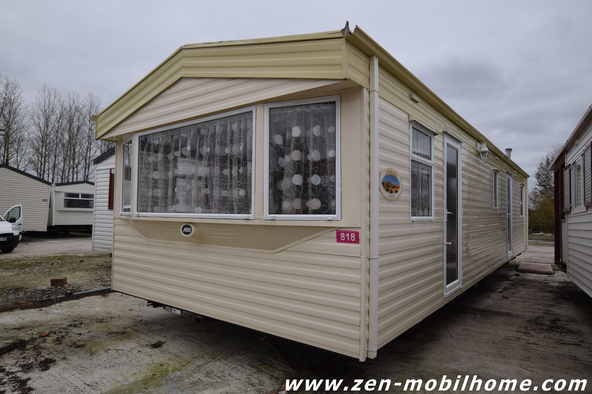 Mobil home panoramique 3 chambres occasion