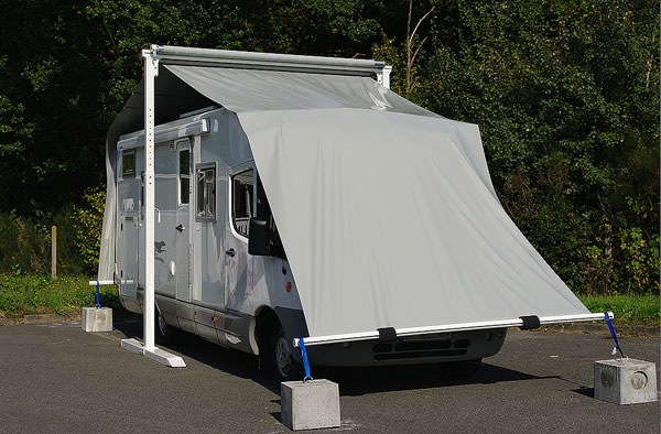 Abri pour camping car occasion