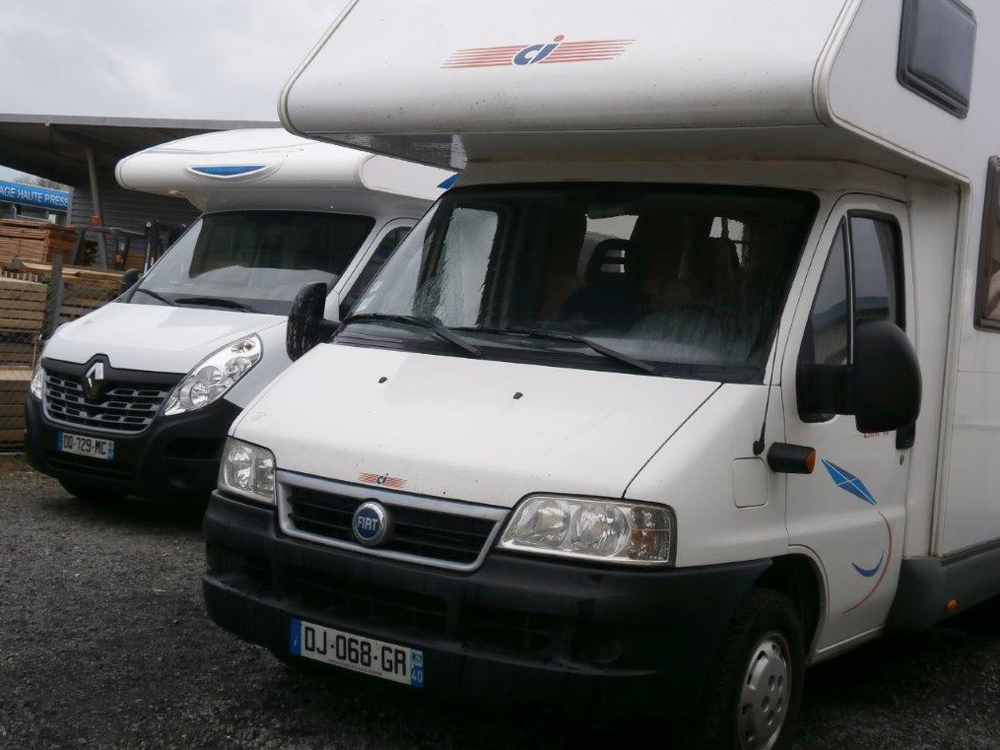 Camping car occasion landes