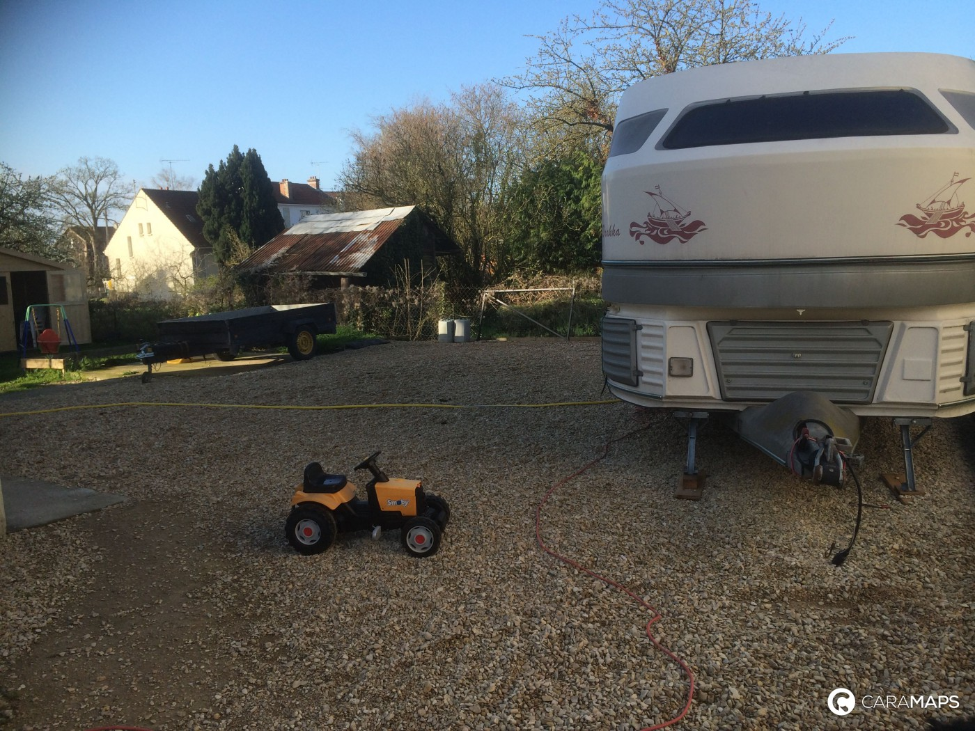 Emplacement camping car chez particulier