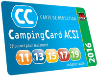 Carte acsi camping car 2017