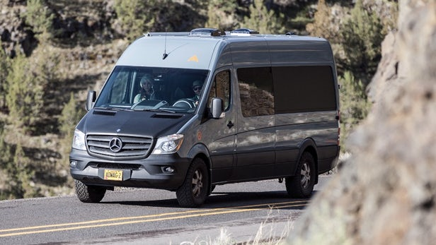 Camping car mercedes sprinter