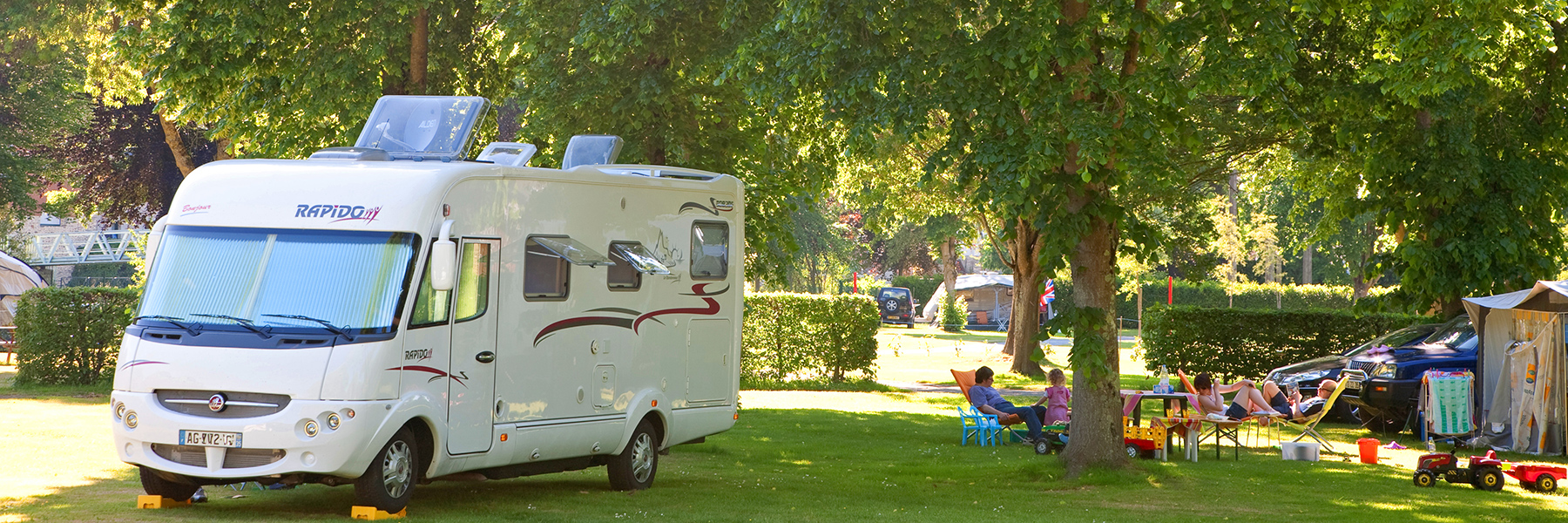 Aires camping car france