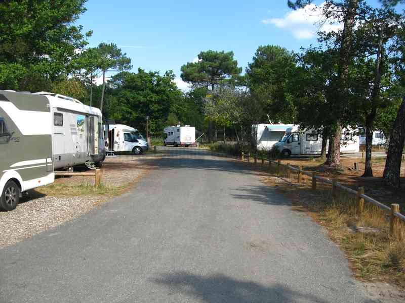 Aire camping car gironde