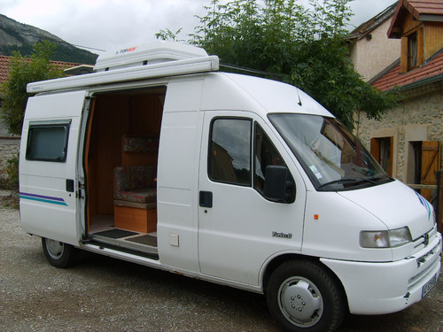 Store camping car occasion