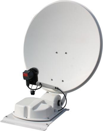 Kit antenne satellite caravane
