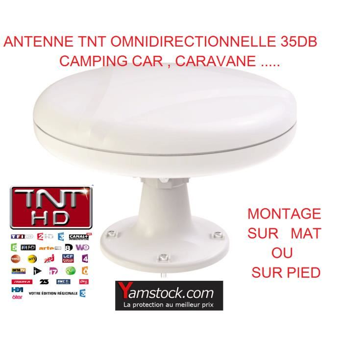 Antenne tv omnimax 12/24v special camping car