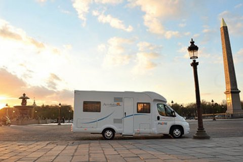 Camping car paris
