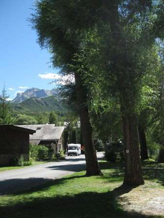 Camping mobilhome barcelonnette