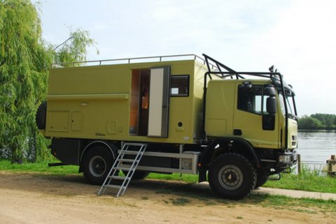 Camping car 4×4 occasion iveco
