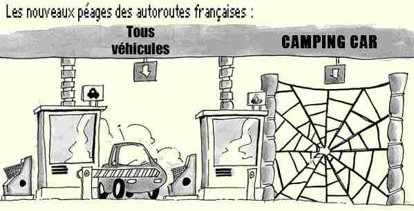 Dessin camping car humour