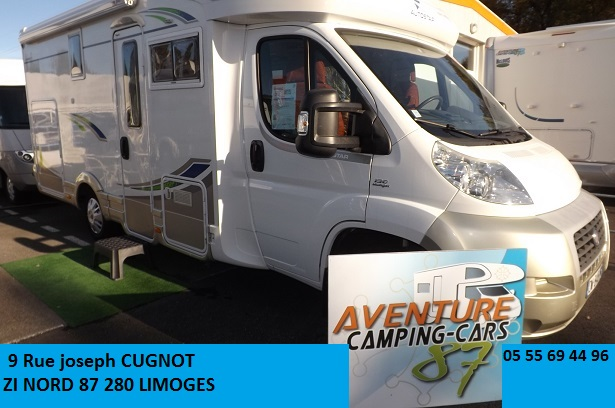 Camping car limoges occasion