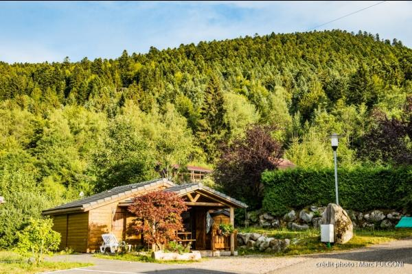 Vacance camping montagne vacance camping avec son chien