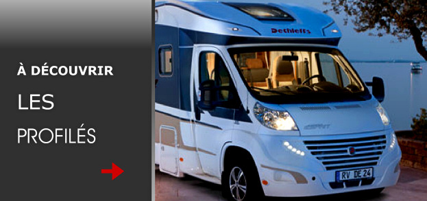 Camping car occasion profile 4 places