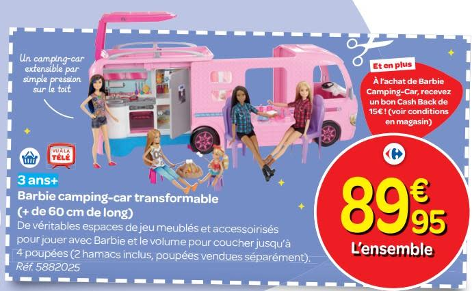 Camping car transformable barbie camping car occasion en italie