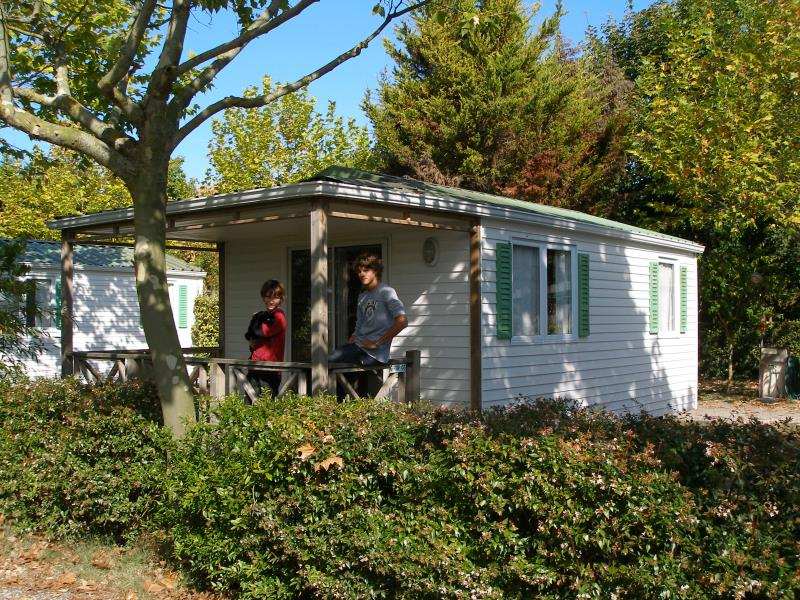 Mobilhome a vendre camping