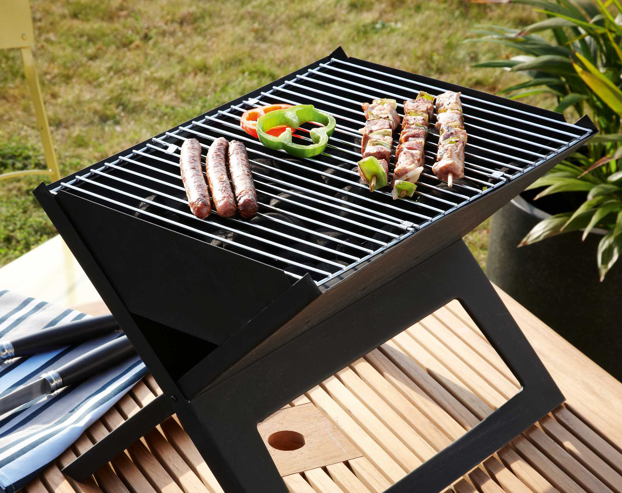Barbecue pour camping car
