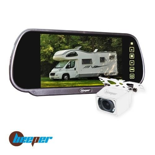 Camera de recul camping car double optique