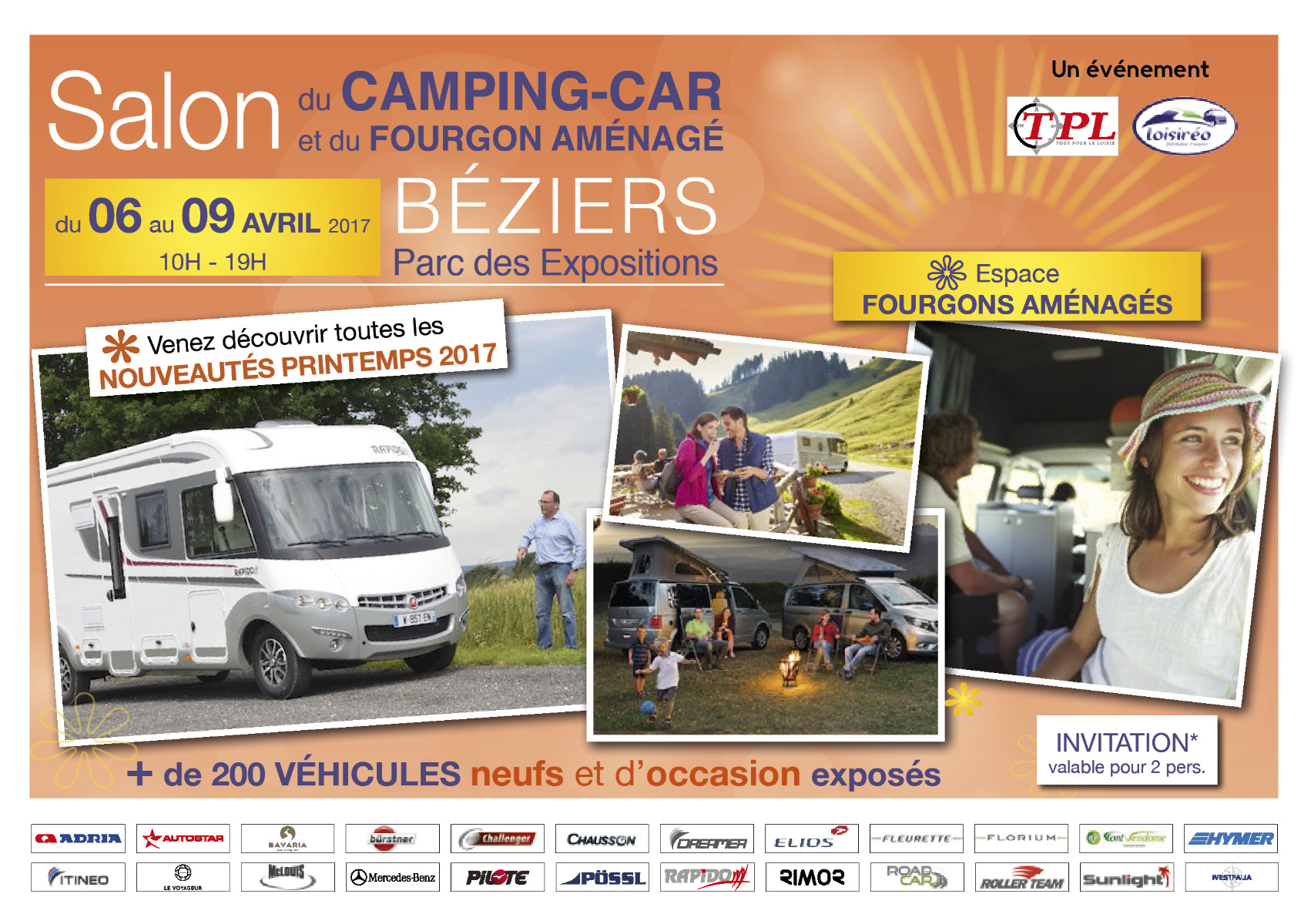 Camping car beziers