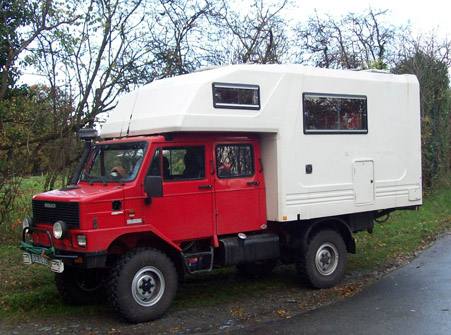 Camion camping car 4×4 occasion
