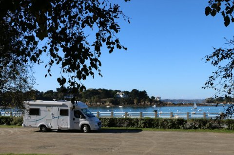 Aire camping car st malo