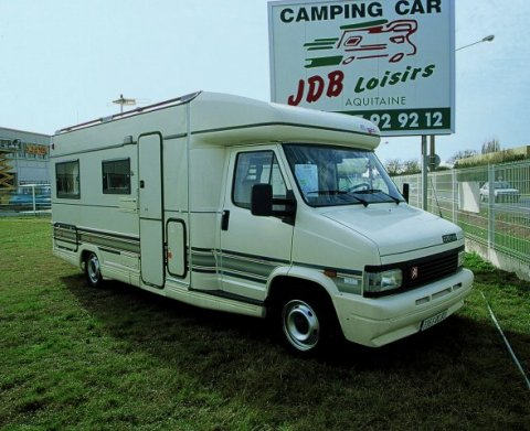 Camping car occasion j5