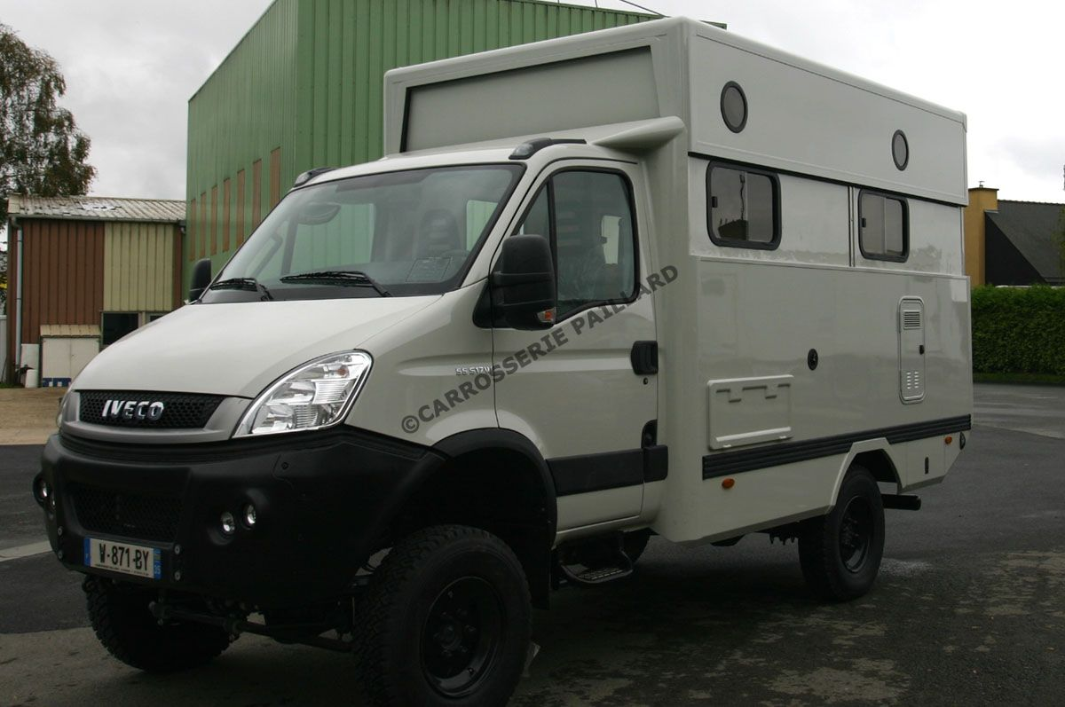 Iveco camping car 4×4 occasion
