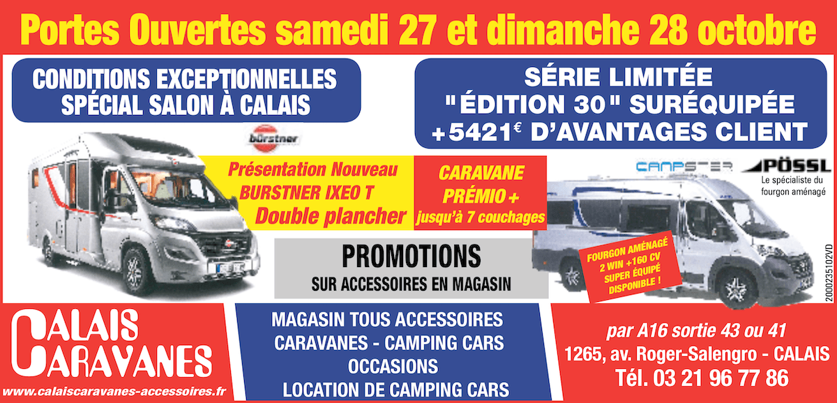 Camping car plus magasin