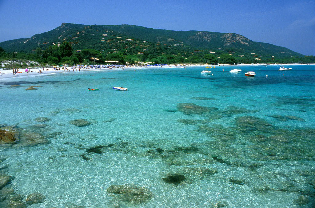 Camping corse du sud acces direct plage camping tikiti