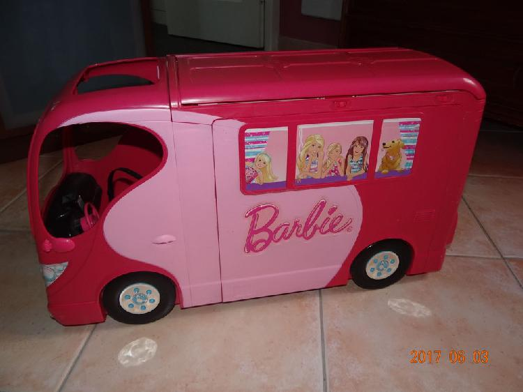 Camping car barbie occasion