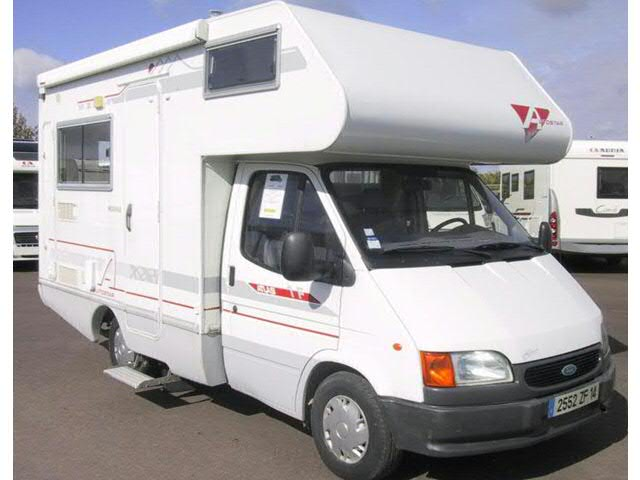 Camping car ford occasion capucine
