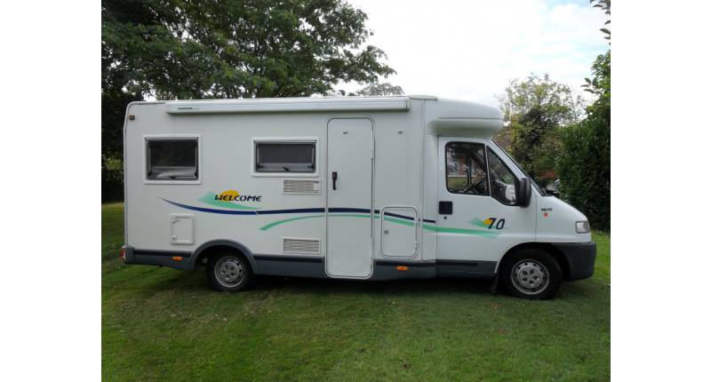 Chausson camping car occasion
