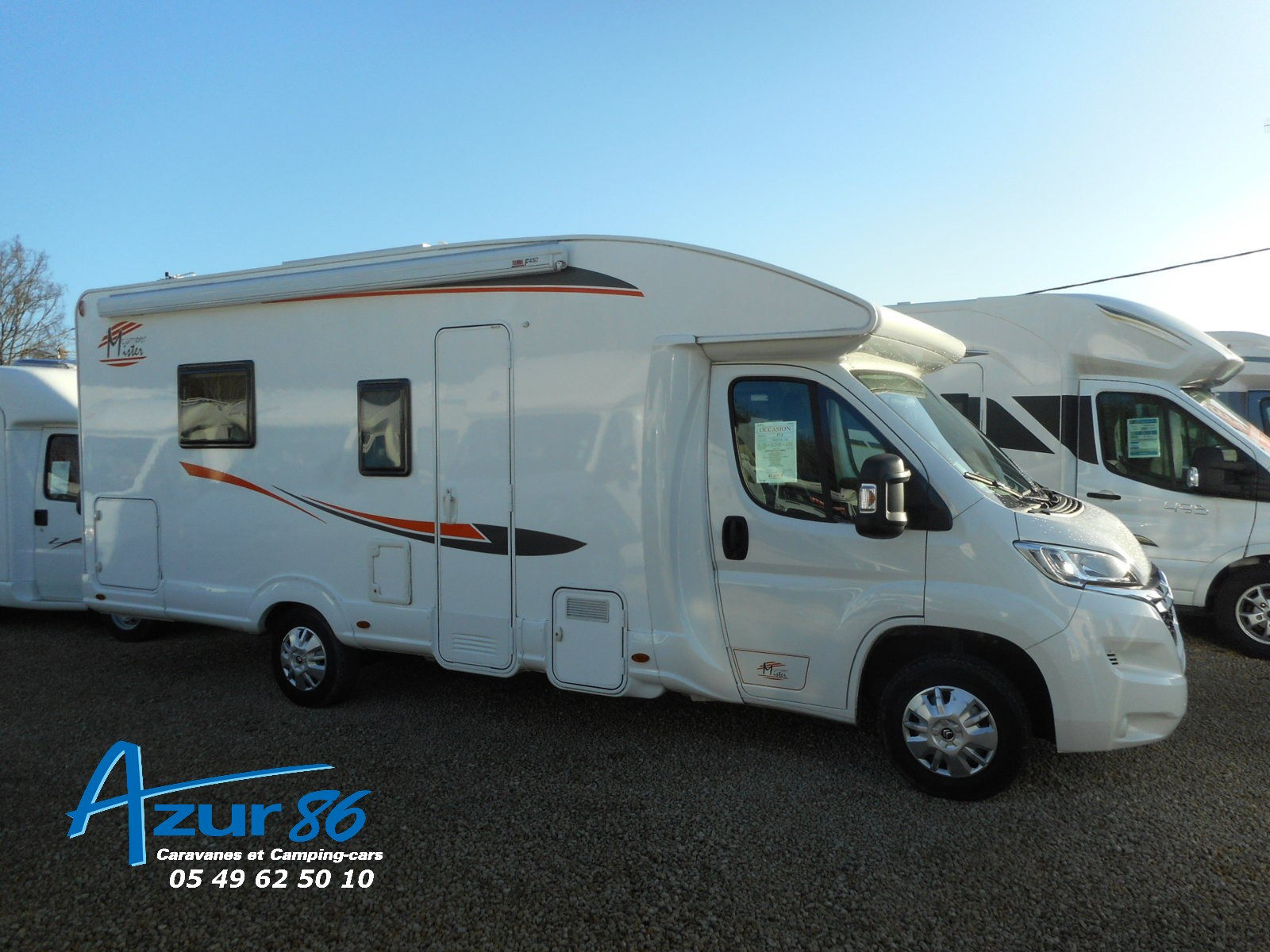 Camping car challenger 311 occasion