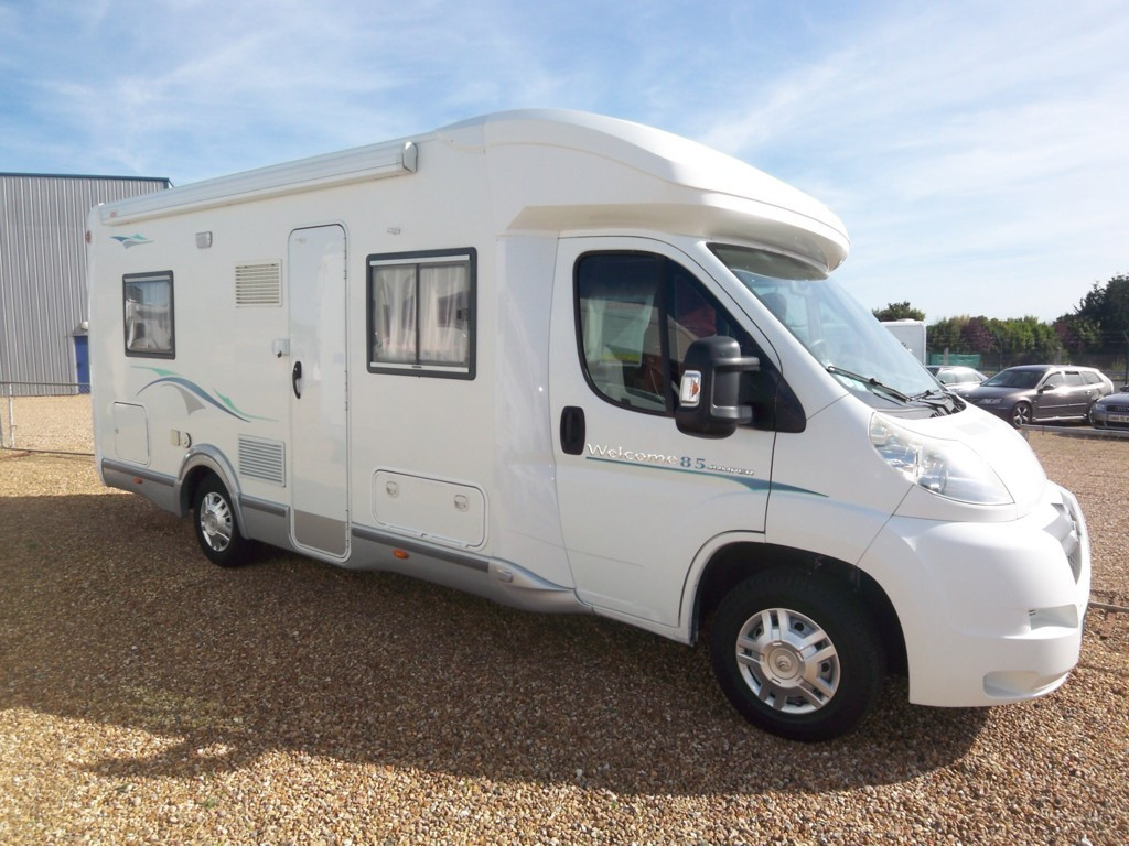 Camping car lux occasion