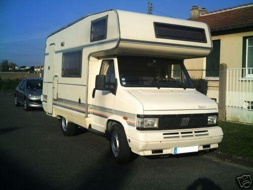 Camping car fourgon occasion particulier