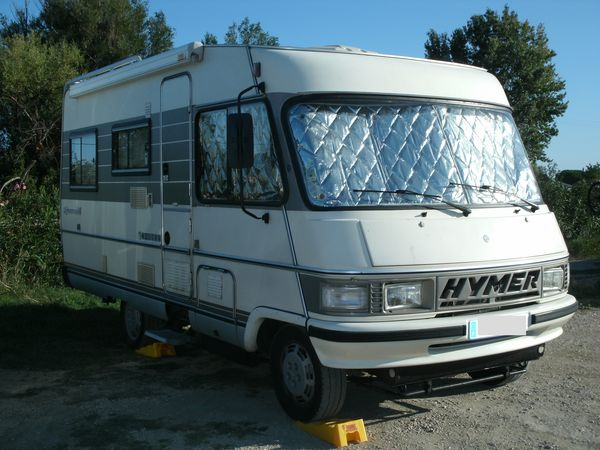 Camping car hymer b544 d occasion