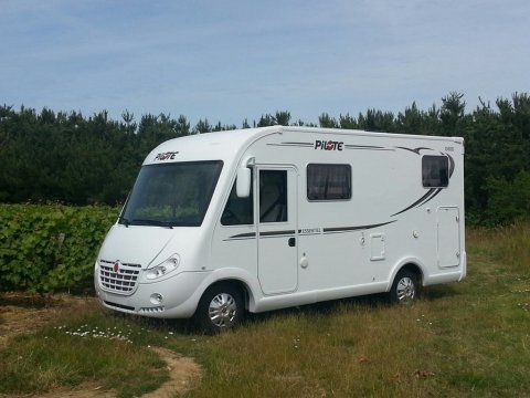 Camping car occasion intégral pilote