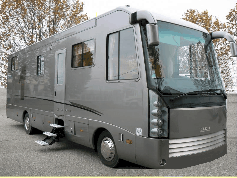 Camping car chausson lit central occasion