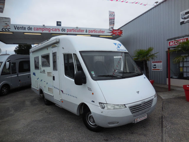 Camping car hymer integral occasion particulier