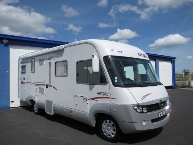 Camping car pilote integral occasion particulier