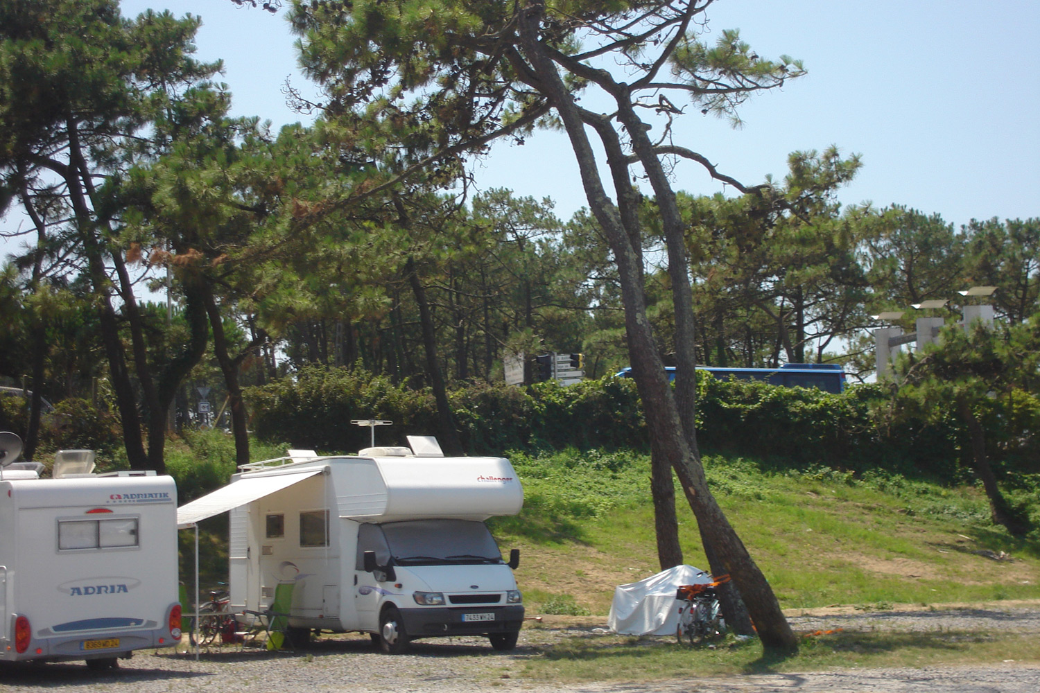 Aire camping car anglet