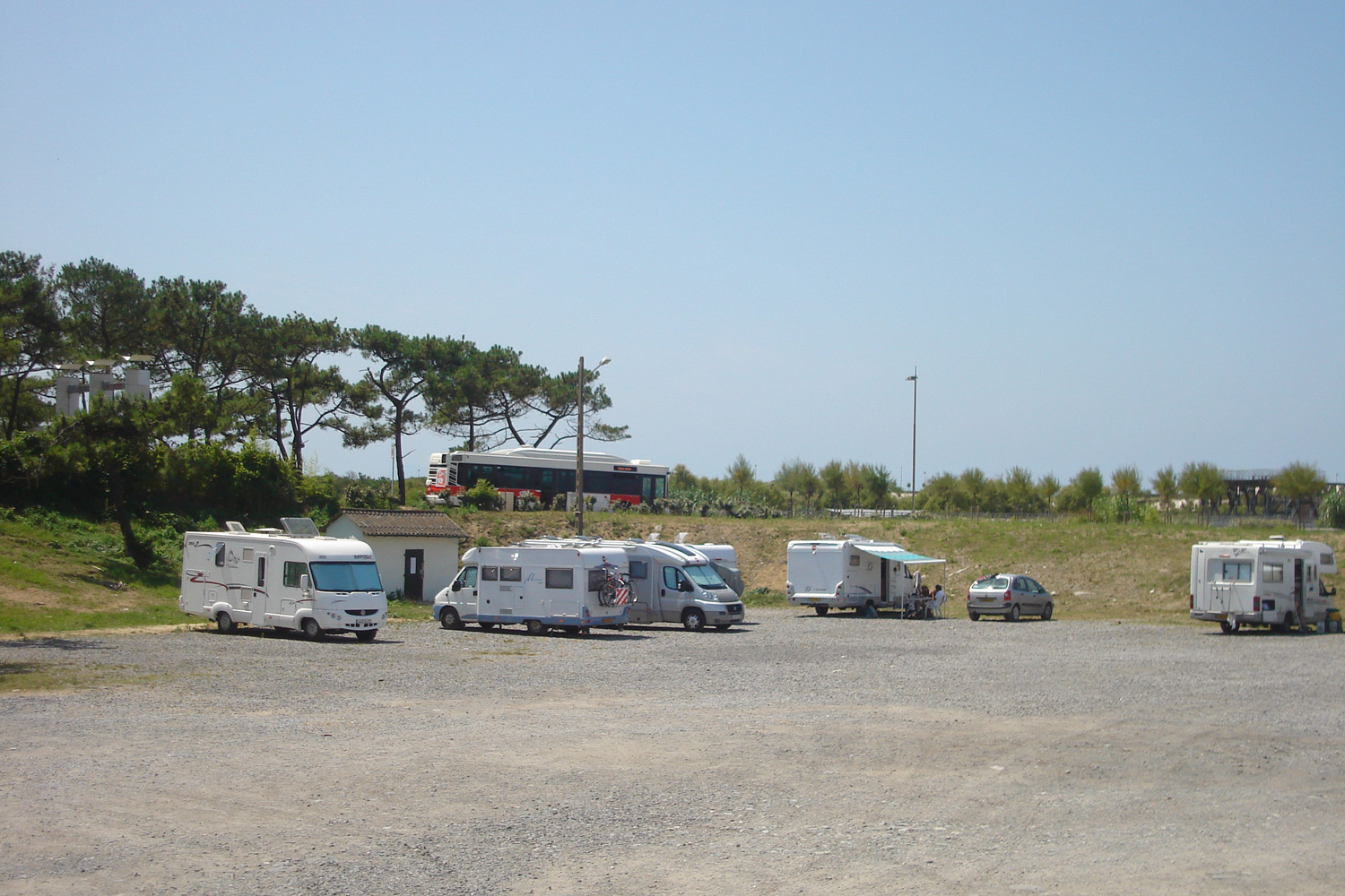 Aire de camping car pays basque